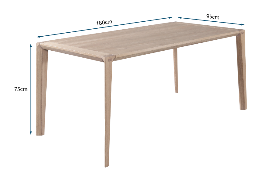 Raia Dining Table Oak
