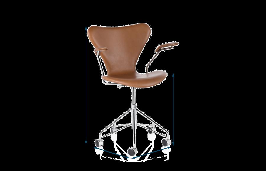 Series 7 Fully Upholstered Swivel Armchair