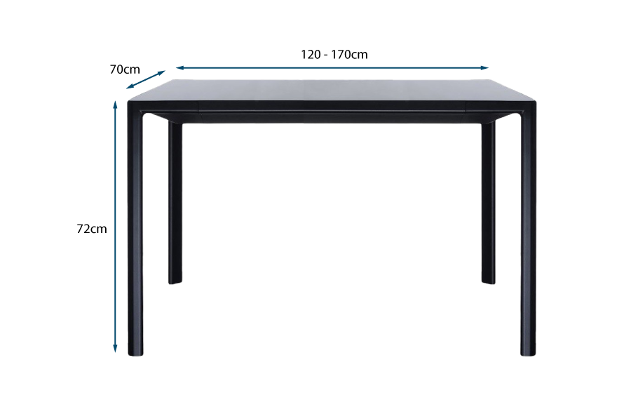 Zooom Extension Table Small