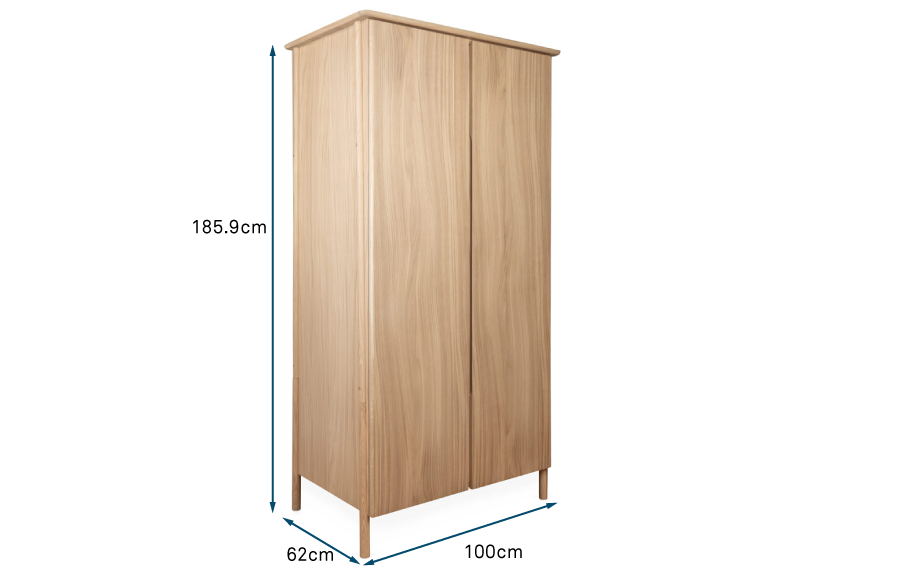 Eden 2 Door Wardrobe